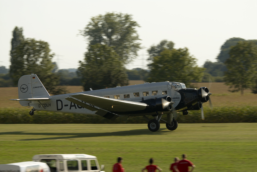 "Junkers Ju-52 ""Tante Ju"" D-AQUI @ Hockenheim Airshow"