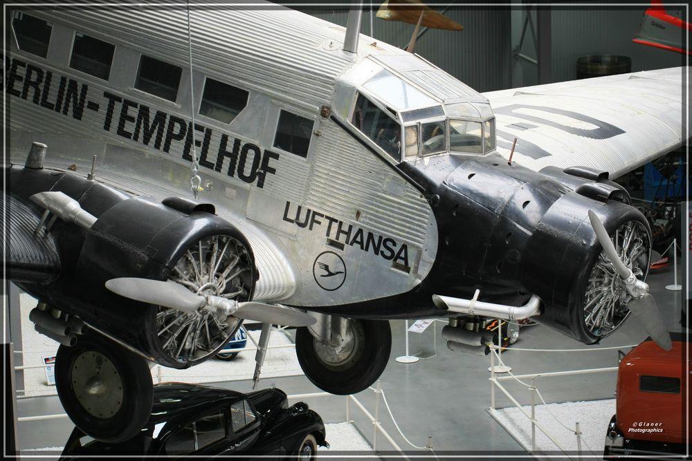 Junkers JU-52 - Technik-Museum-Speyer