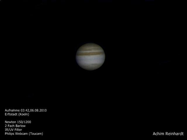 Jupiter 06.08.2010
