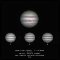 Jupiter am 25.02.2015
