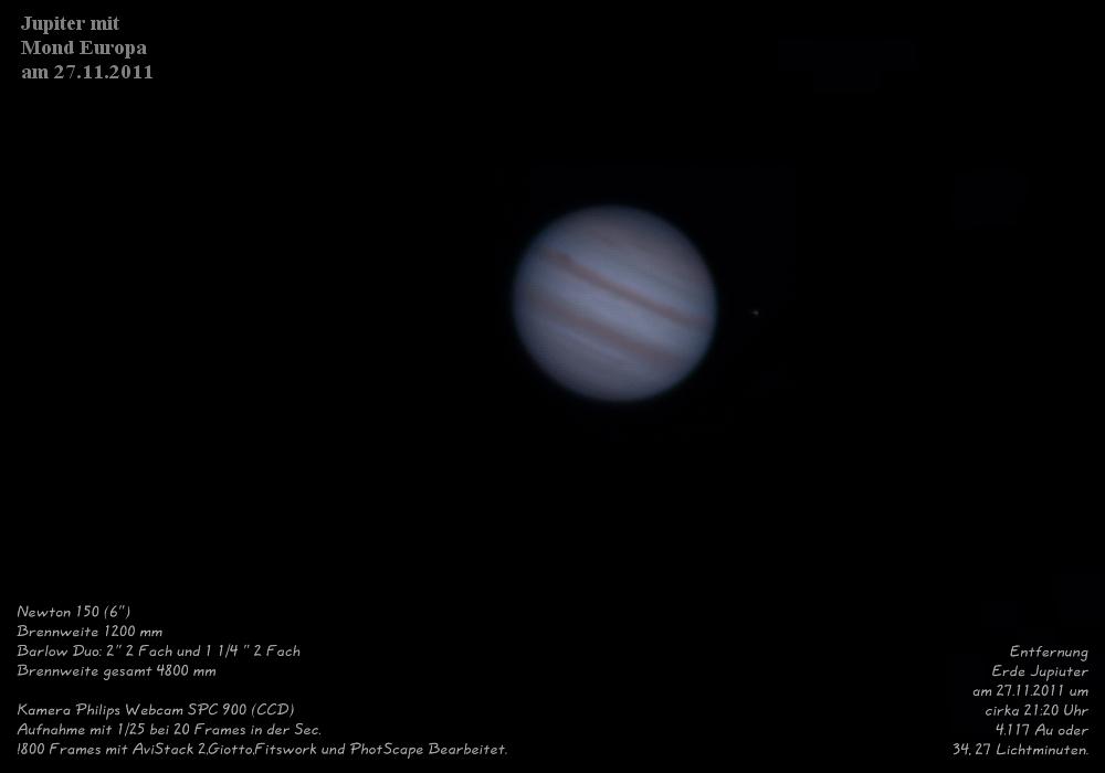Jupiter am 27.11.2011