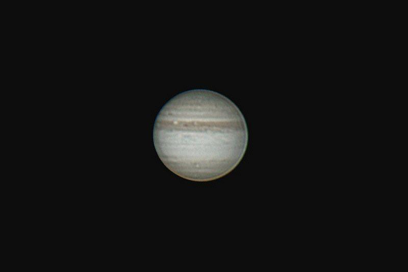 Jupiter am 4.8.2010 ohne südliches Wolkenband