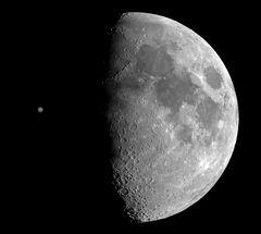 Jupiter and Moon...