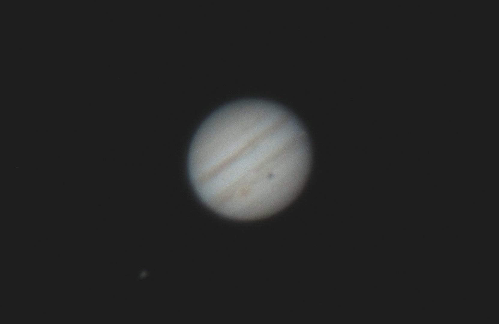 Jupiter mit Io Schatten