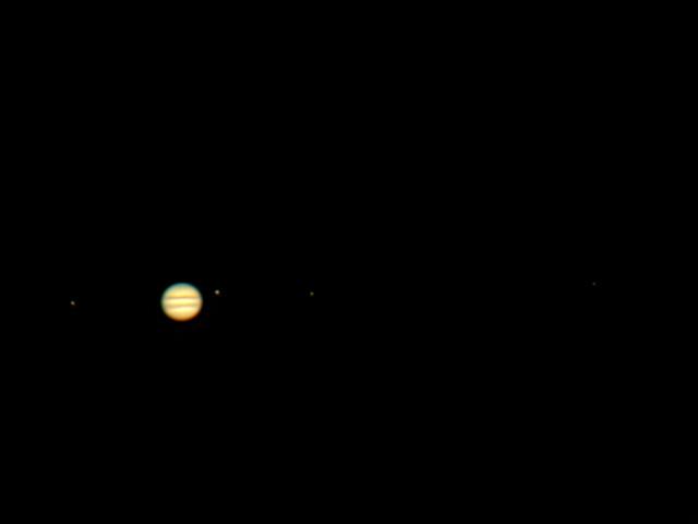 Jupiter und die Galileischen Monde