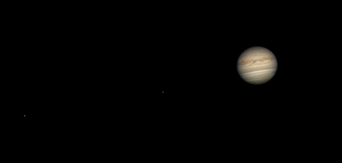 Jupiter und seine Monde