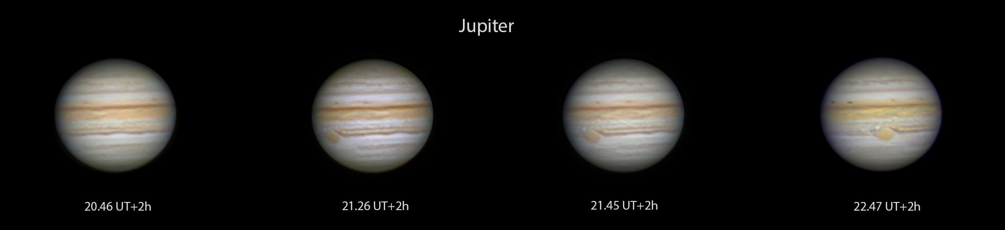 Jupiters Rotation