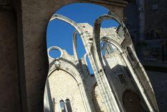 Just a piece of sky - Convento do Carmo