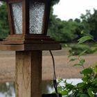 Just a pillar with a light