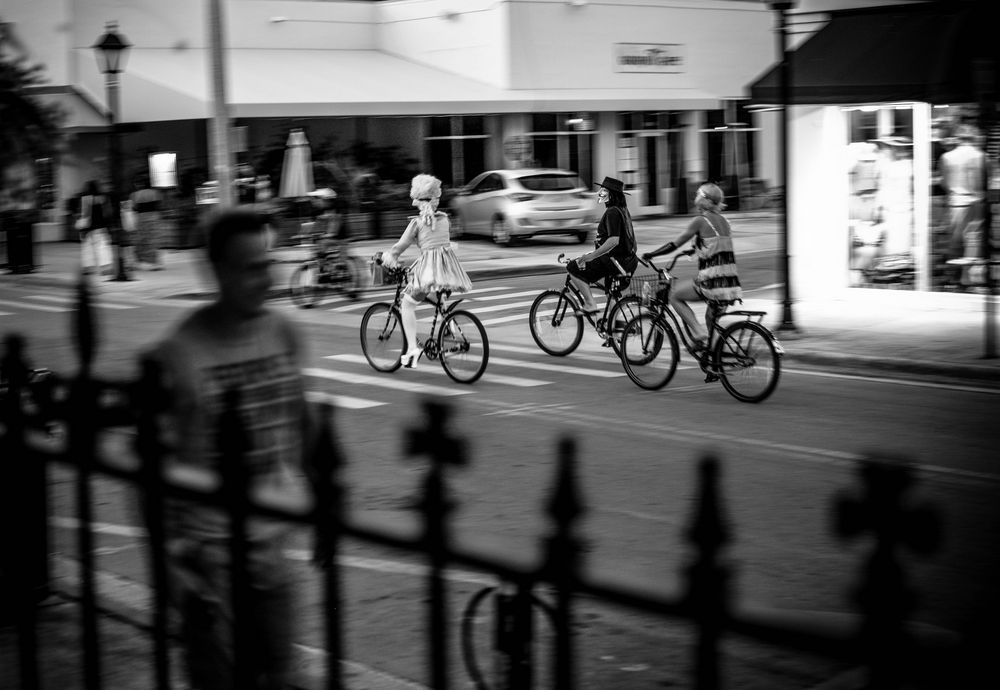 Just another day on Duval Street - Key West