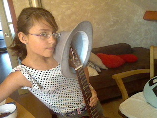 Just me and my...Guitar