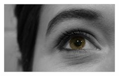Just one eye [colorkey].