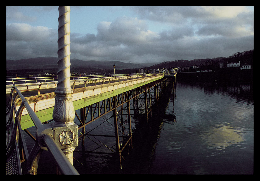 Just out for a stroll/Bangor/Wales