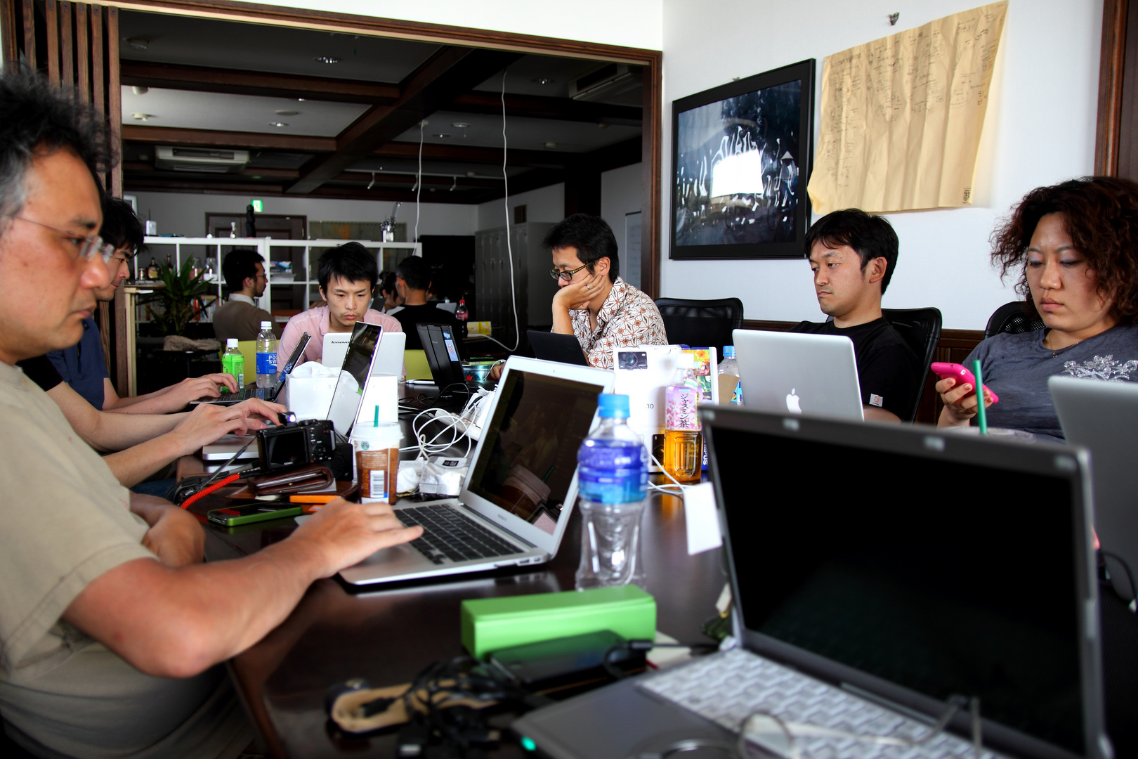 just working in Coworking space (PAX Coworking)