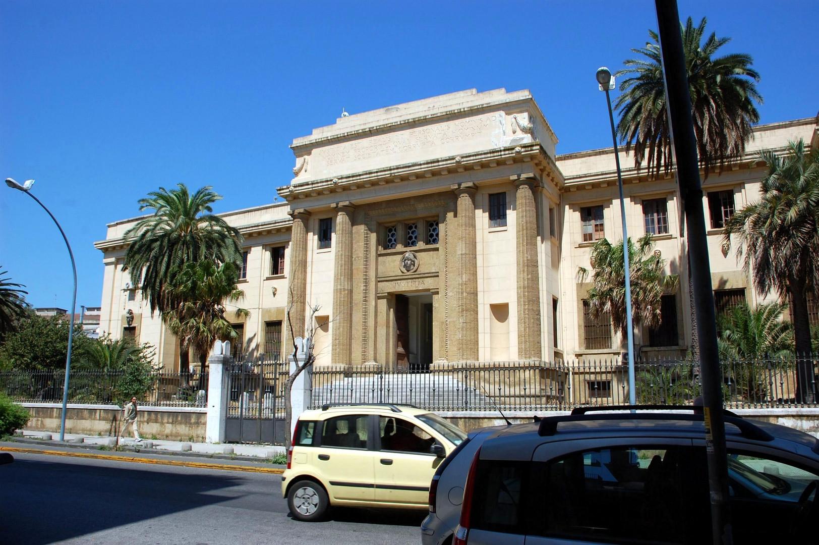 Justicgebäude in Messina