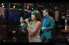 Justine singing