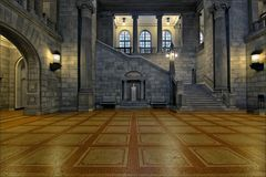 * Justitzgebäude Hamburg *
