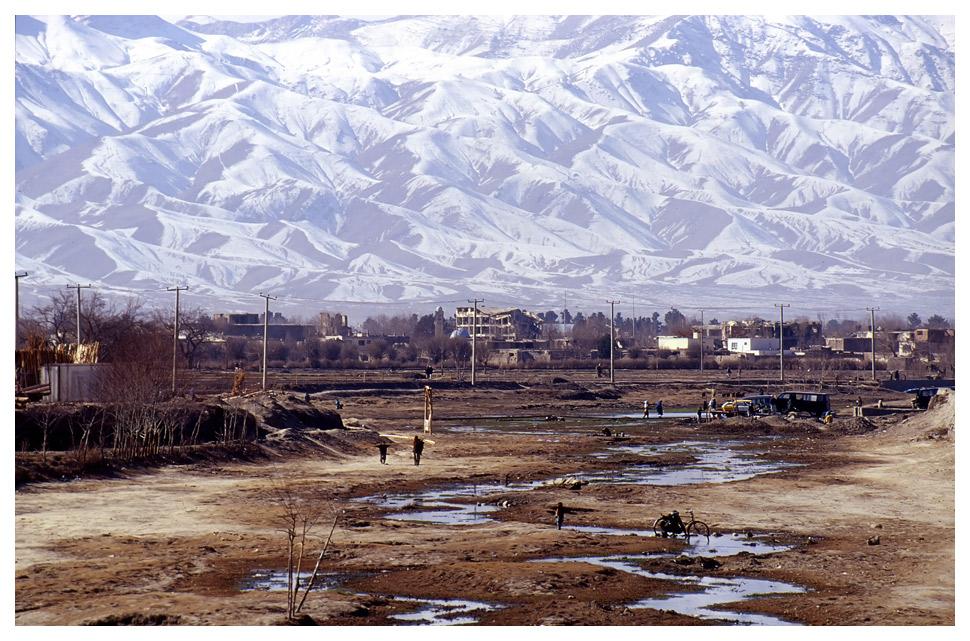 Kabulriver und Hindukusch