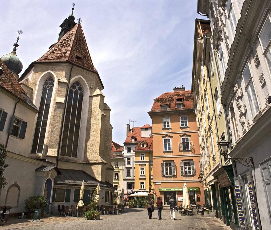Kälbernes Viertel in Graz