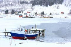 Kälte auf dem Weg nach Sommarøy