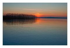 Kälte über dem See II