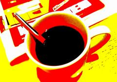 Kaffe....