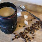 Kaffee am Morgen vertreibt Kummer und Sorgen...