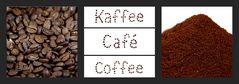 Kaffee, coffee, café