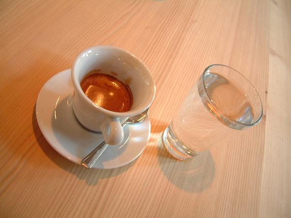 Kaffee, ein Genuß
