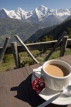 Kaffee mit Aussicht