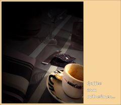 kaffee zum mitnehmen...