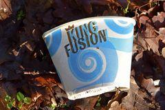 Kaffeebecher: King Fusion in den Rodauauen