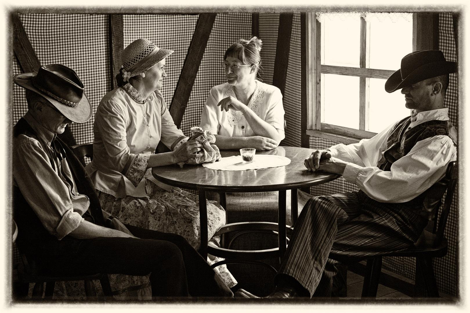Kaffeeklatsch Foto & Bild | szene, historisch