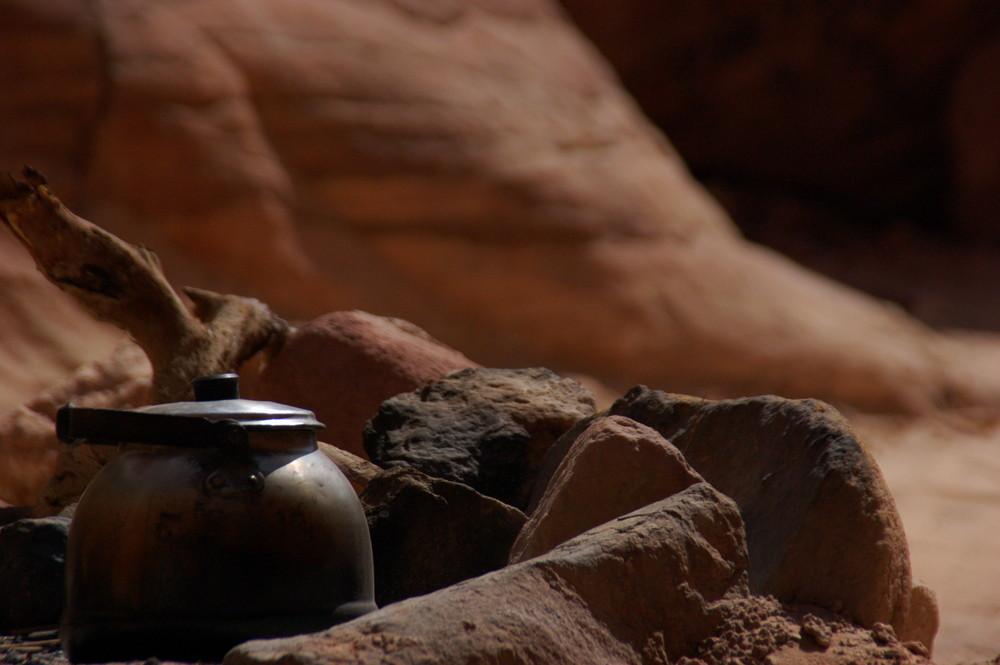 Kaffeepause im Colour Canyon