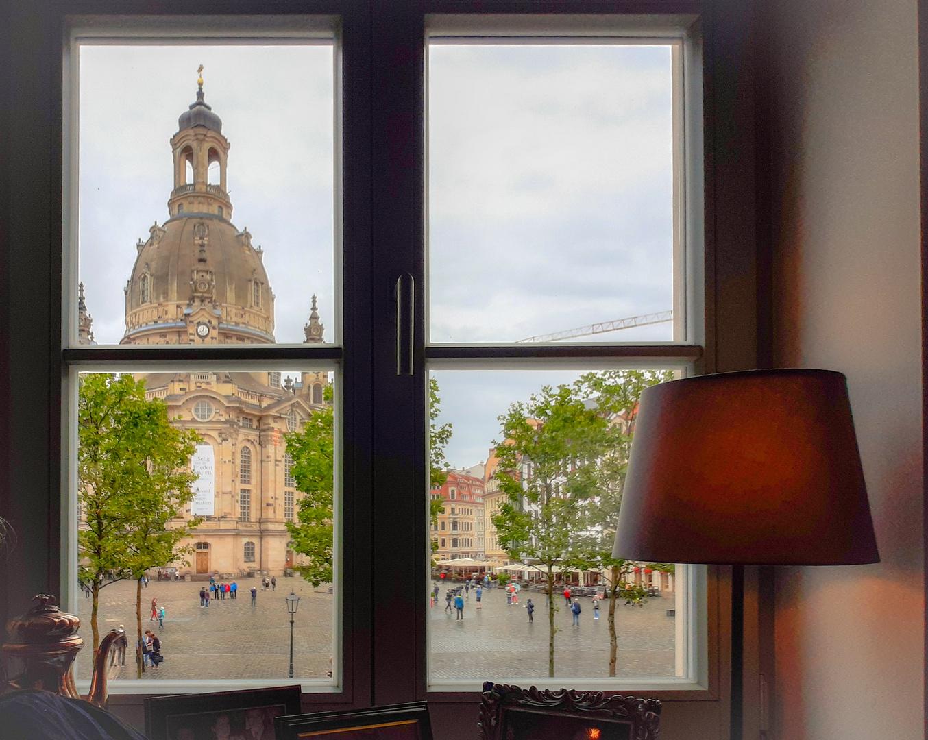 Kaffeepause in Dresden