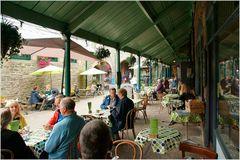 Kaffeeterrasse in Tavistock