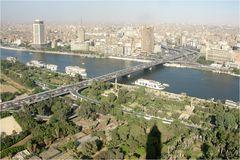 Kairo aus der Vogelperspektive