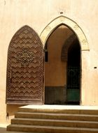 Kairo, koptisches Viertel, Türe zu St. Georg