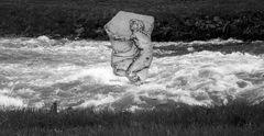 kairós im aufgewühlten Fluss der Zeit