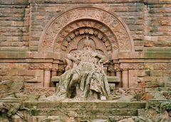 Kaiser Barbarossa in Stein