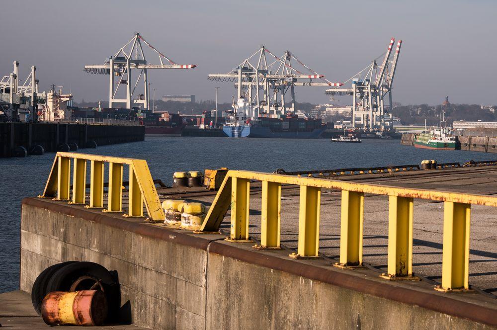 Kaiser-Wilhelm-Hafen Hamburg