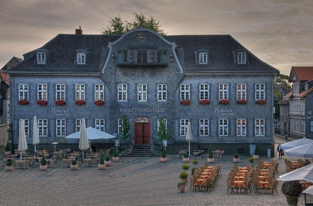 Kaiserringhaus am Marktplatz in Goslar