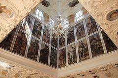 Kaisersaal innen Schloss Schwarzburg