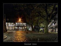 """Kaiserstadt - GosLar """" die Lohmühle im Regen...."""""""