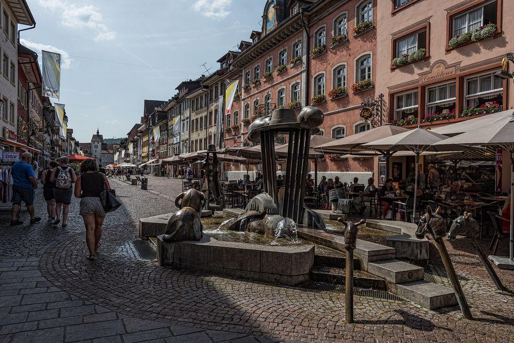 Kaiserstraße in Waldshut