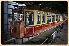 Kaiserwagen der Wuppertaler Schwebbahn