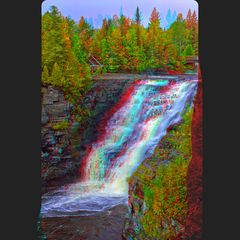 Kakabeka Falls Hyperstereo 3-D