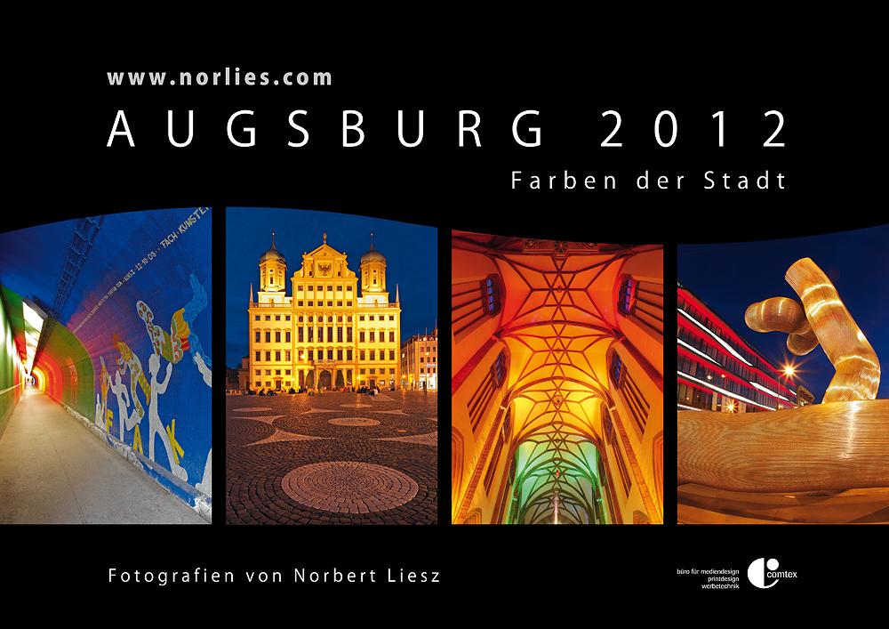 """Kalender 2012 """"Augsburg - Farben der Stadt"""""""