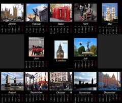 Kalender 2015 - London