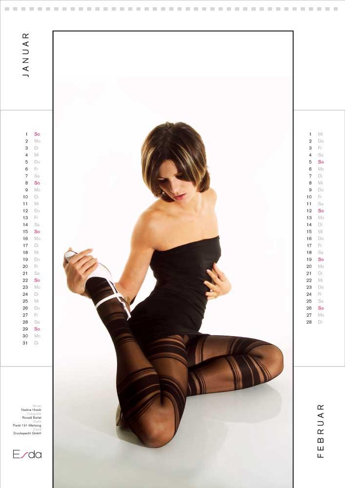 Kalender ESDA Januar/Februar